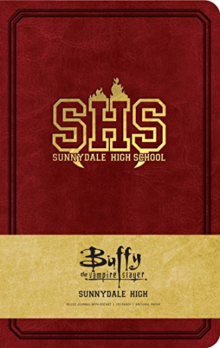 Buffy the Vampire Slayer Sunnydale High Hardcover Ruled Journal par Insight Editions