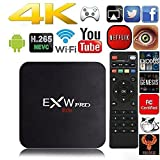 Amlogic EXW PRO Quad Core Smart TV Box With Xbmc Pre-installed Android 6.0 Lollipop OS TV Box Quad Core 1G/8G 4K Google smart Media Players with WiFi HDMI DLNA