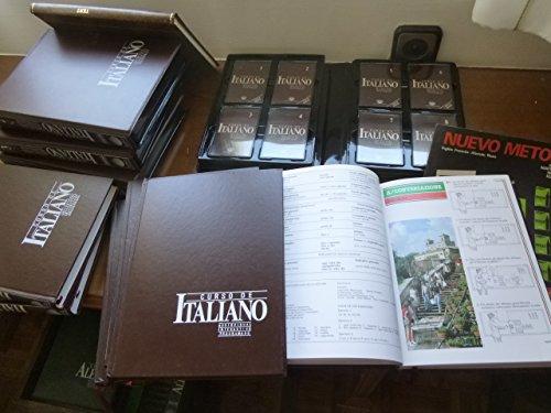 CURSO DE ITALIANO AUDIOVISUAL INTERACTIVO PROGRAMADO (4 LIBROS + 29 CASSTES).