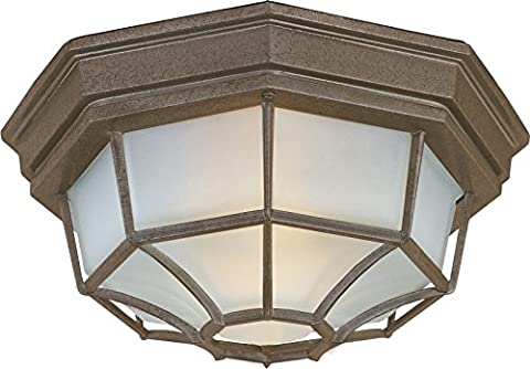 Maxim Lighting 1020RP Crown Hill 2-Light Outdoor Ceiling Mount -