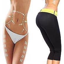 G-Smart Chándal para mujer pantalones de adelgazamiento Shaper caliente térmico sudor neopreno faja cinturón cintura Cincher Body Shapers, XL