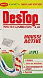 Destop Pack de 8 Entretien Canalisations Mousse Active