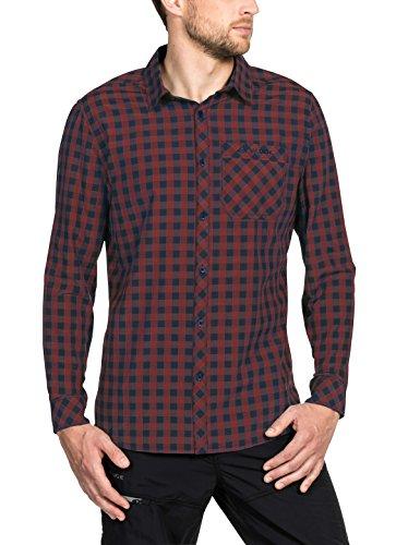 Vaude Herren Heimer Long Sleeve Shirt II Hemd, Cherrywood, XXXL