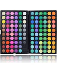 120 Bright Colors Eye Shadow, SUMERSHA Eyeshadow Palette Makeup Kit Eye Colour Grooming Palette Concealer(#1)