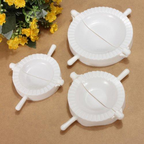 Knödel Maker, 3 Stücke chinesische Knödel Form Teig Presse Pie Ravioli machen Maker Mold Knödel Maker Küche Werkzeug