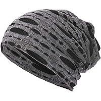 Gorras Mujer Invierno ❄ Sonnena Hombre Mujer Orificio Gorra Sombrero de Cabeza de Cobertura Gorro Beanie Sombrero Caliente Sombrero al Aire Libre