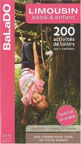 BALADO  LIMOUSIN  BB ENFANT2010-2011