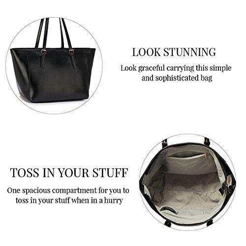 Damen Großen Umhängetaschen Frauen Designer Handtaschen Kunstleder Promi Stil Shopper Neue Trage B - Lila