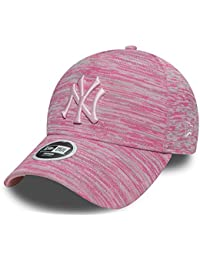 ceff8b0e747e7 New Era Casquette Femme 9FORTY Engineered Fit New York Yankees Rose