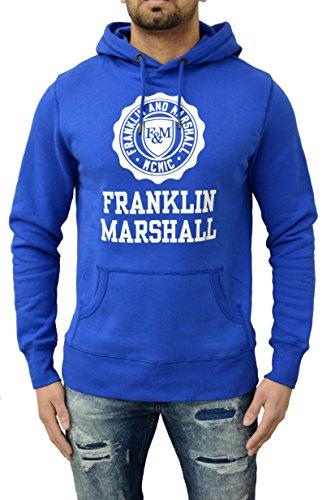 Franklin-Marshall-Mens-Fleece-Hooded-Long-Sleeve-Sweatshirt-Designer-Top-Hoody-Overhood-Pullover-Hoodie