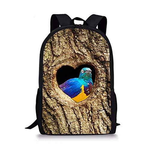 cht Muster Frauen Rucksack Personalisierte Kinder Daypack Girls 16 Zoll Rucksack Für High School Bookbag -1 ()