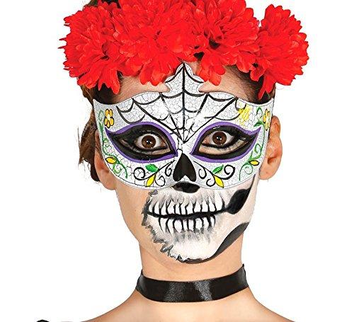 Guirca Fiestas GUI12906 - Gesichtsmaske Tag der Toten Mann