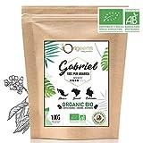 ☘️ Premium BIO Kaffeebohnen ● Biologische Arabica Kaffee Ganze Bohnen ● Säurearm ● Traditionelle Röstung ● 1kg