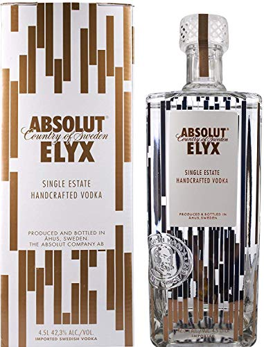 Absolut Vodka Elyx + GB 42,3% Vol.