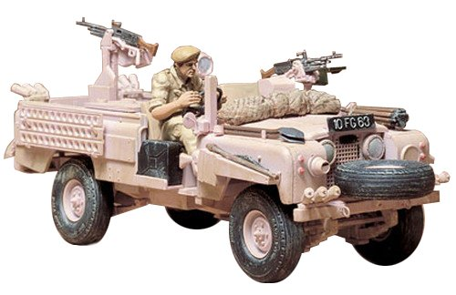 Tamiya 1/35 british sas land rover kit (japan import)