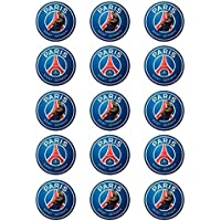 Disques cupcakes comestible PSG Mbappe