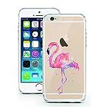 iPhone Cover di licaso® per il Apple iPhone 7 Plus di TPU Fenicottero Uccello Rosa Silicone Modello molto sottile protegge il tuo iPhone 7 Plus con stile Cover e Bumper