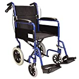Best Wheelchairs - Lightweight aluminium folding transit travel wheelchair with handbrakes Review
