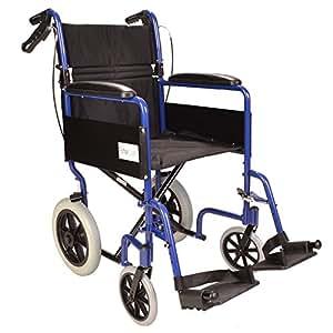 Léger pliant fauteuil roulant voyage en aluminium - ECTR01