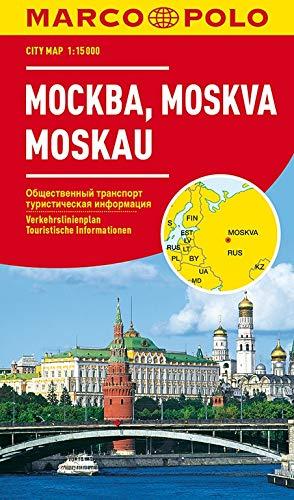 MARCO POLO Cityplan Moskau 1:15 000: Stadsplattegrond 1:15 000 (MARCO POLO Citypläne)