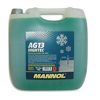 MANNOL Antifreeze AG13-40 Kühlerfrostschutz Kühlmittel 10L MN4013-10