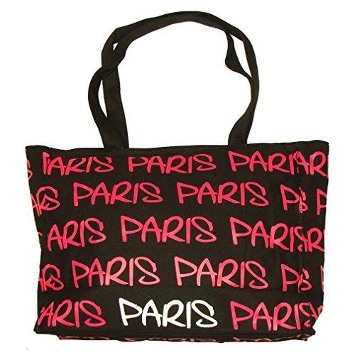 Robin Ruth - Sac Shopping Paris Robin Ruth - Couleur : Noir