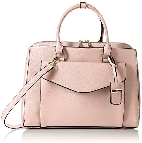 swankyswans-sara-envelope-work-damen-schultertaschen-pink-pink-light-pink-grosse