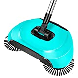 Zantec à la main Push type de balayage à main levée Magic Balai Pelle Balai Ménage Outil de nettoyage
