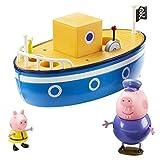 Peppa Pig 05060 Grandpa Pig's Bath Time Boat, Multi-Colour