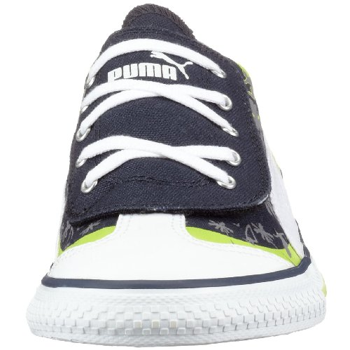 Puma 917 chaussures lo 349918 cALI jr mixte enfant Bleu - Blau (Newnavy-White-Wildlime04)