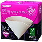 100 hojas en caja VCF-01-100 mK 1-2 tazas Hario V60 para el filtro de papel M (jap?n importaci?n)