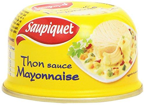 Saupiquet Thon sauce Mayonnaise 2 boîtes de 135 g - Lot de 6