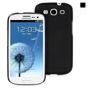 Snugg - Housse noire pour Samsung Galaxy S3 de haute qualité en polyuréthane thermoplastique - Matériau antidérapant, ultra-mince, protecteur et doux au toucher - Conçu par Snugg, les créateurs numéro 1 des étuis pour iPad 2 et iPad 3 en tête des ventes