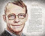Kunst Druck Bild Hans Rosling antidepressiv Mut Machen Leinwand Poster Tapete Mousepad Aufkleber Platte Schild (250 mal