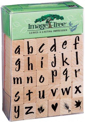 EK Tools Alphabet-Stempel, Kleinbuchstaben, Pinsel-Buchstaben