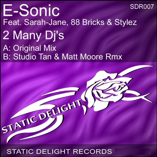 2 Many Dj's (feat. Sarah-Jane, 88 Bricks, Stylez) [Studio Tan & Matt Moore Rmx] (Sarah Jane Studios)