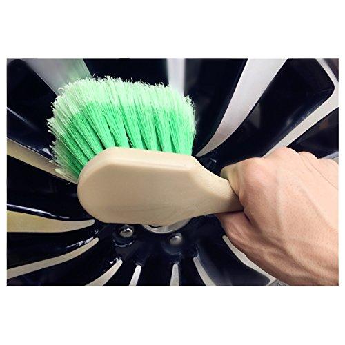 ECYC® Spezial Design gefiederte weiche Haar Auto Rad Reifen ()