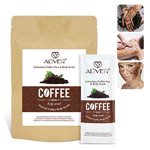 Weixinbuy Exfoliante exfoliante café Exfoliación