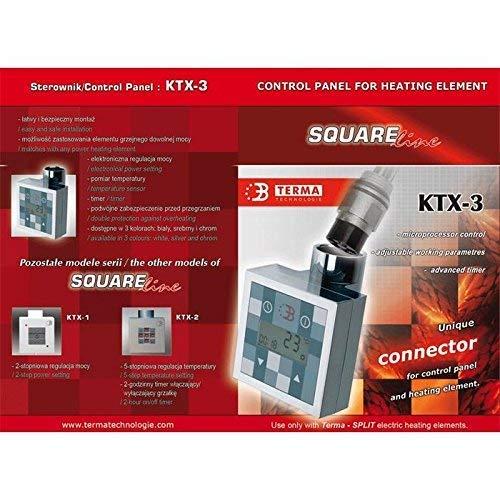 Heizpatrone für Badheizkörper KTX-3, 300Watt weiss - 5