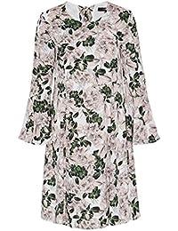 HALLHUBER Schwingendes Kleid mit Flowerprint locker geschnitten