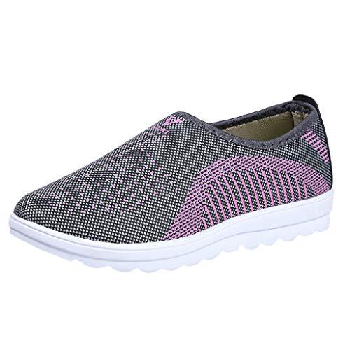 1373f1a89 Alpargatas para Mujer ZARLLE Zapatosde Mujer Zapatillas Respirable  Mocasines Deportes Casual Sandalias Antideslizantes Fitness Correr Calzado