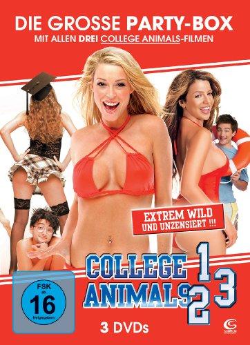 Die große Partybox: College Animals 1-3 (Sammeledition aus 3 DVDs)