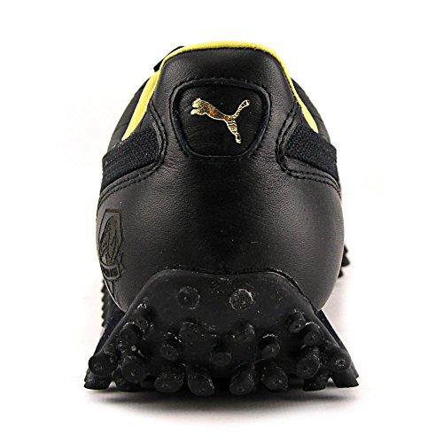 Puma Fast Rider LE Cuir Baskets Black