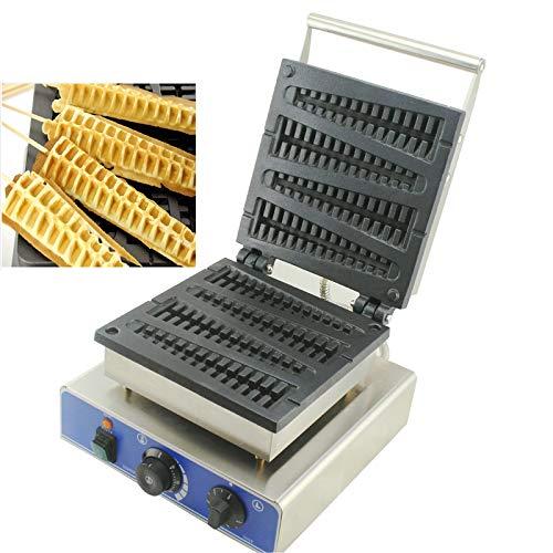 CICIN Kommerzielle elektrische Lutschbonbon-Waffel-Hersteller-Maschine, Waffel-Stock-Bäcker-Waffeleisen-Kuchen-Ofen-Weihnachtsbaum-Kiefern-Kuchen-Maschine