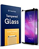 Caseology Galaxy S9 Plus Screen Protector with Guide Frame [Tempered Glass] [Easy Installation] for Samsung Galaxy S9 Plus (2018) - 1 Pack