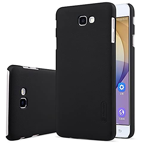 Samsung Galaxy J7 Prime/On7(2016) Case - Super Frosted Matte Shield Hard Case Cover Shell Pack with Screen Protector Film for Samsung Galaxy J7 Prime/On7(2016) - Black