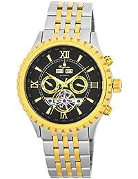 Burgmeister Armbanduhr für Herren mit Analog Anzeige, Automatik-Uhr mit Edelstahlarmband - Wasserdichte Herrenuhr mit zeitlosem, schickem Design - klassische Uhr für Männer - BM327-927 Denver