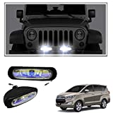 #2: Vheelocityin 55W Bar (Set Of 2) Auxillary Lamps Foglamp Halogen Light For Toyota Innova Crysta