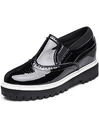 9228d4d4bca0d los zapatos del elevador Ms Spring mollete zapatos pesado-Escuela de viento  sola pendiente con zapatos zapatos pequeños