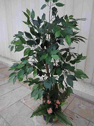 künstliches Ficus Benjamin-Arrangement ca.135cm.